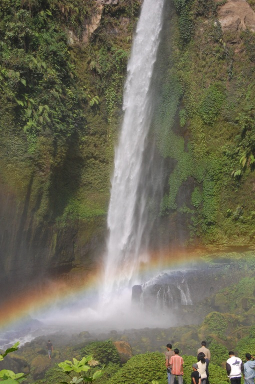 Coban Pelangi (The Rainbow Waterfall)